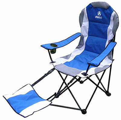 Giga Tent Chair for Camping With a Footrest