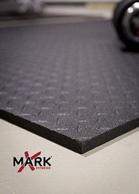 Xmark Fitness Mat, Ultra-Thick Equipment Mat