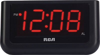 RCA Digital Alarm Clock, 1.4