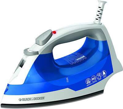 BLACK+DECKER IR03V Nonstick Soleplate, Steam Surge Travel Easy Steam Iron