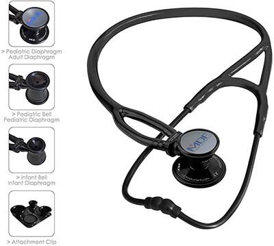 MDF Instruments ProCardial ERA Cardiology Dual Head Stethoscope
