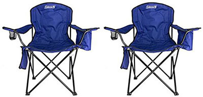 Coleman Quad Chair for Camping Uses