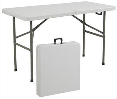 Best Choice Products Plastic Folding Table
