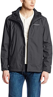 Columbia Watertight 2 Front-Zip Men's Hooded Rain Jacket