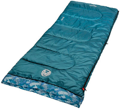 Coleman Plum Fun 45 Degrees F Youth Sleeping Bag