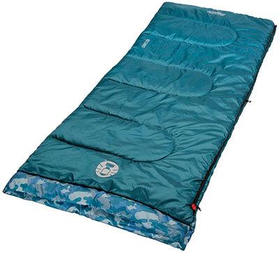Coleman Plum Fun 45 Degrees F Youth Sleeping Bag