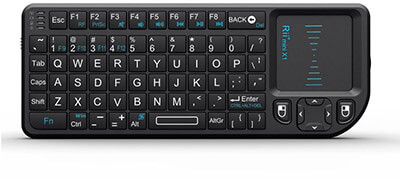 Rii Mini Wireless 2.4GHz, integrated Keyboard Mouse and Touchpad Remote Control