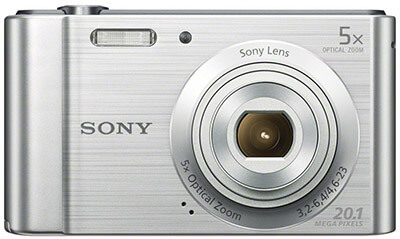 Sony W800/S Digital Camera, 20.1 MP