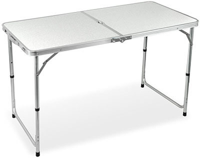 Yaheetech Aluminum Folding Camping Table