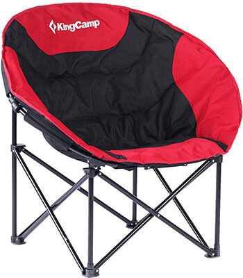 King Camp Moon Saucer Camping Chair