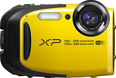 Fujifilm FinePix XP80 Digital Camera, Waterproof, 2.7-Inch LCD