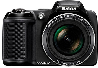 Nikon Coolpix L340 Digital Camera, 20.2 MP