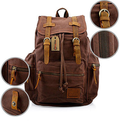 Top 20 Best Leather Backpacks in 2019 Reviews – AmaPerfect 38a214ddab