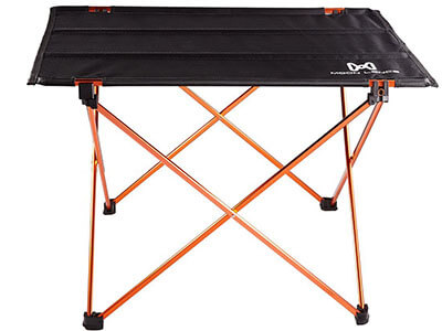 Moon Lence Folding Camping Roll Up Table