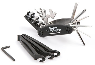 WOTOW 16 in 1 Multi-Function Bike Mechanic Repair Tool Kit