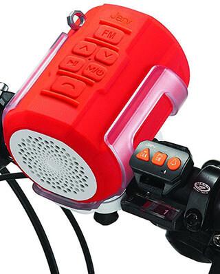 Jarv Bluetooth Bike Speaker, Waterproof, FM Radio