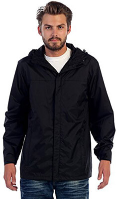 Gioberti Waterproof Rain Jacket for Men