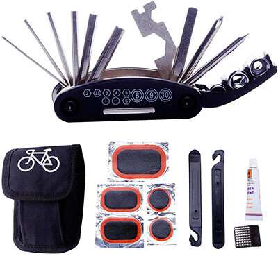DAWAY Bike Repair Tool Kit Multifunctional Bicycle Tool Kit