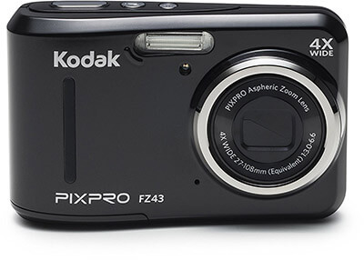 Kodak PIXPRO Friendly Zoom FZ43 Digital Camera 4X Optical Zoom