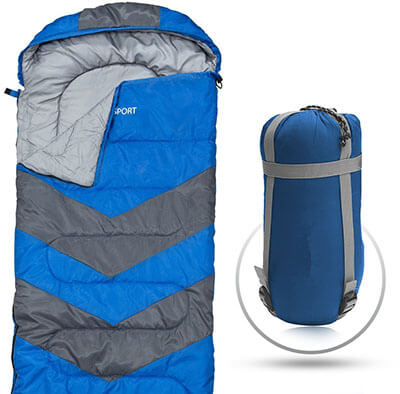 Abco Tech Envelope Lightweight Portable Sleeping Bag