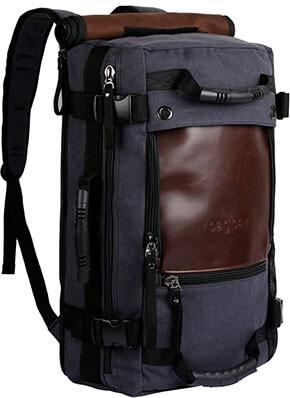Ibagbar Canvas Backpack Bag Rucksack