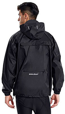 Baleaf Unisex Packable Waterproof Rain Jacket