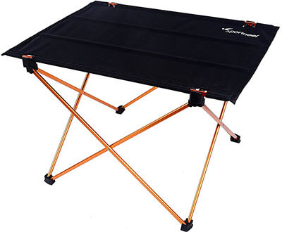 Sportneer Lightweight Folding Hiking, Camping Table
