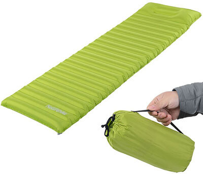 ACRATO TPU Thick Ultralight Lightweight Air Inflating Sleeping Pad