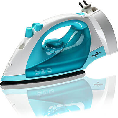 Hephaestus KB-905 1200 W Steam Spray Iron, Retractable Cord