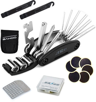 SAHOO 16-in-1 Bicycle Repair/ Maintenance Tools Kits Set