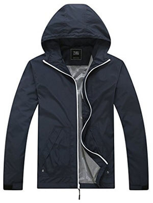 ZSHOW Men's Windproof Waterproof Quick Dry Jacket