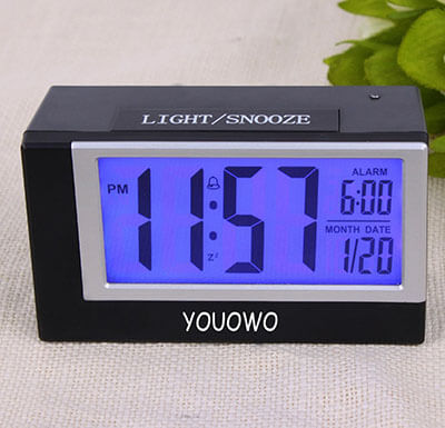 YOUOWO Digital Alarm Clock, Large Display Kitchen Clock