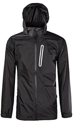 SWISSWELL Men's Waterproof Hooded Rainwear Coat