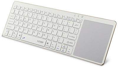 LESHP Bluetooth Wireless Keyboard, Universal Portable PC Keyboards