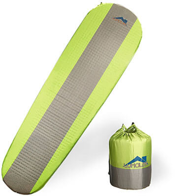 Whalek Camp Pad for Camping, Self Inflating