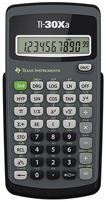 Texas Instruments TI-30Xa Science Calculator