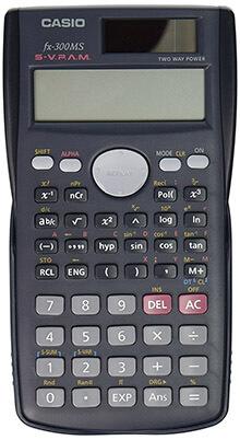 Black Casio Scientific Calculator FX-300MS