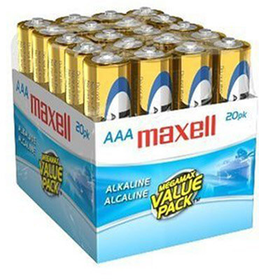 Maxell 723849 AAA Battery