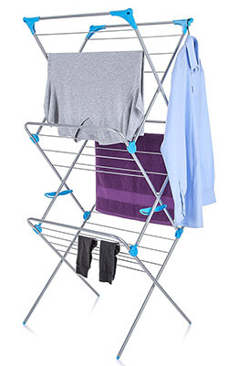 Minky Trio Concertina Indoor Laundry Drying Rack