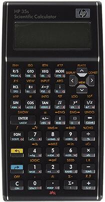 HP 35s Calculator Scientific