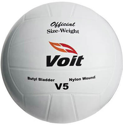 Voit V5 Volleyball- Rubber Covered