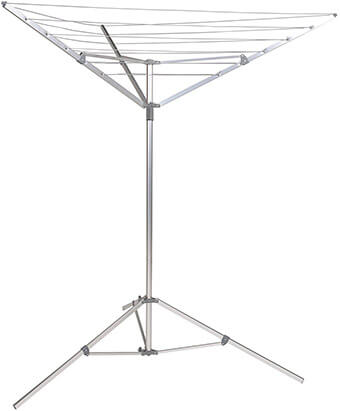 Household Essentials P1900 Umbrella Clothes Drying Stand