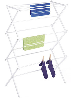 Whitmor 6023-741 White Clothes Rack