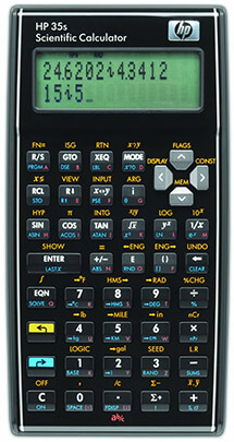 HP 35S-35S Science Calculator