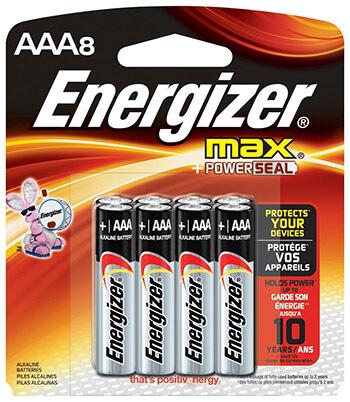 Energizer MAX Battery AAA