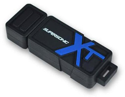 Patriot Memory Supersonic Boost XT Flash Drive, 8GB