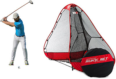 Rukket Sports Original Pop-Up Golf Net, Ball return feature