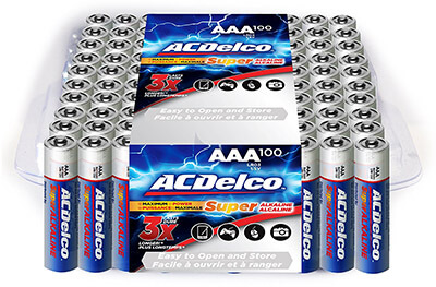 ACDelco Battery AAA Super Alkaline
