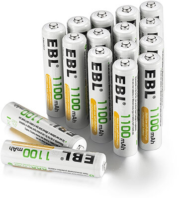 EBL AAA Rechargeable Battery