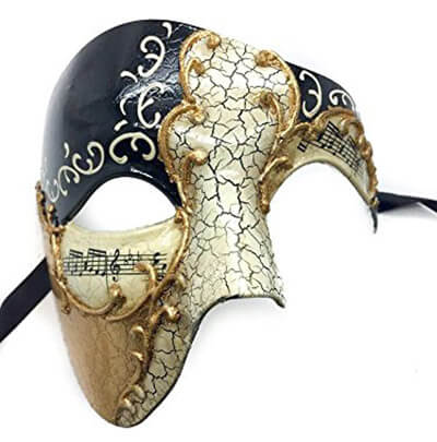 KAYSO Phantom Design Masquerade Mask for Men